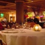 Vermageren en ook eten in een restaurant?