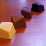 Vermageren kan met chocolade