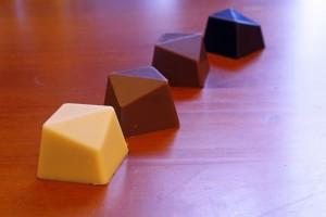vermageren met chocolade